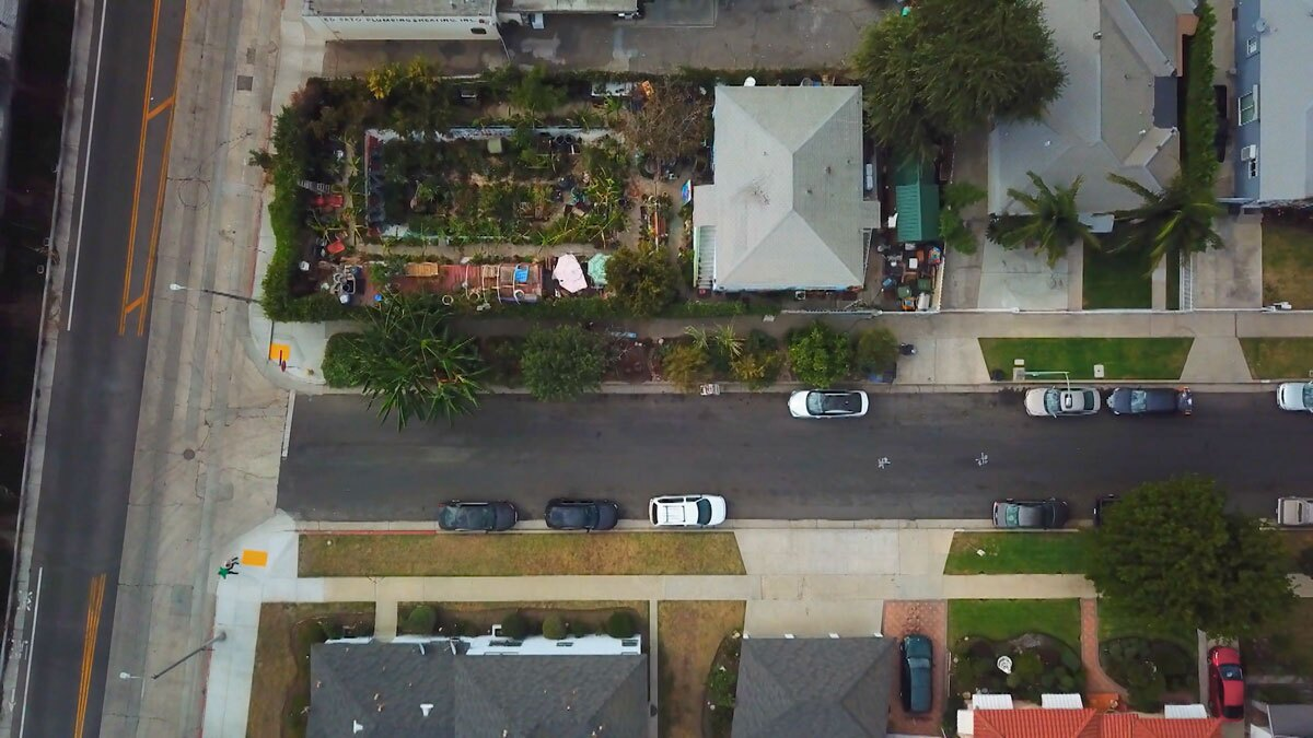 "Ron Finley's garden   Still from ""Broken Bread"" Access"
