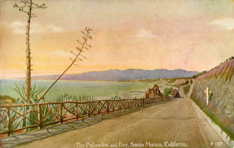 Postcard of California Incline, circa 1913-20