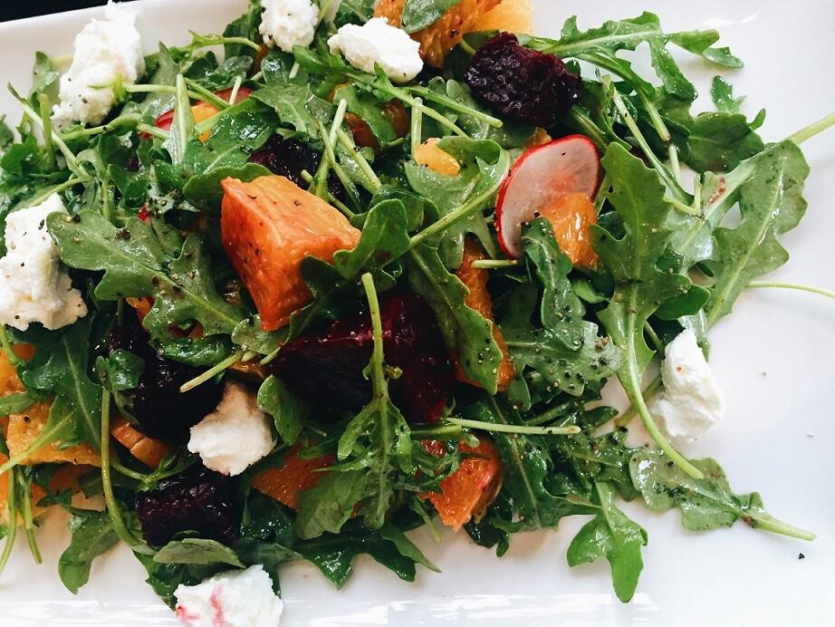 Barbianca Hotel Kitchen Beet Salad