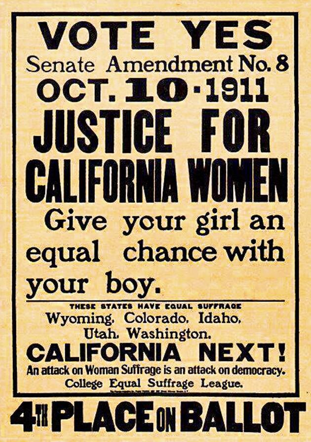 Votes for Women 1911