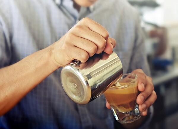 G & B Coffee Pour. Photo: Grand Central Market