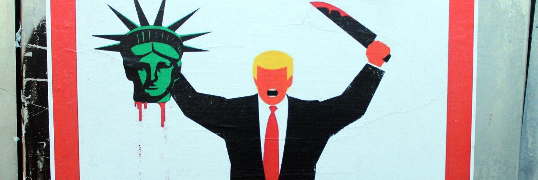 Anti-Trump Street Poster | Elvert Barnes/Flickr/Creative Commons License