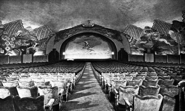 Inside the Avalon Theater, 1929 | Security Pacific National Bank Collection, Los Angeles Public Library