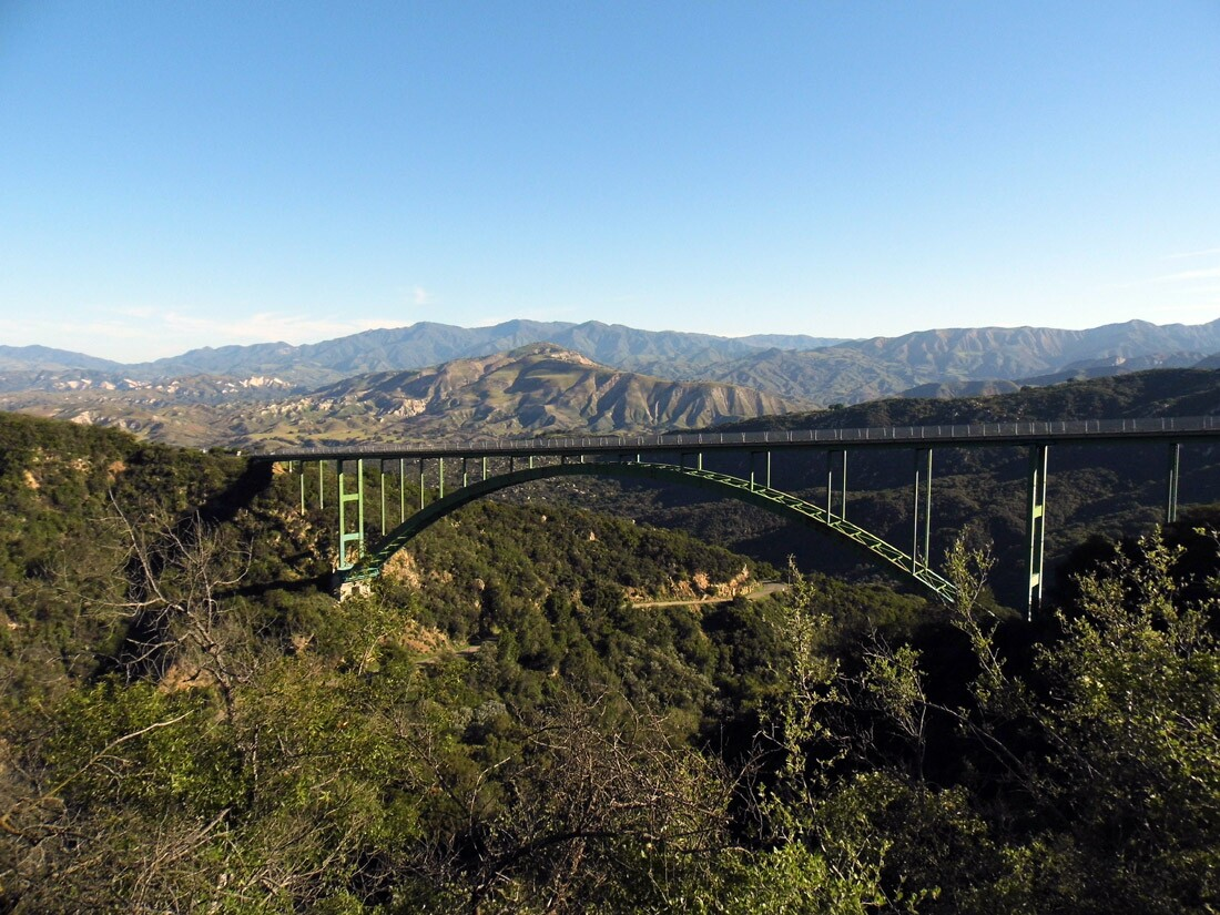 Cold Spring Canyon Arch Bridge