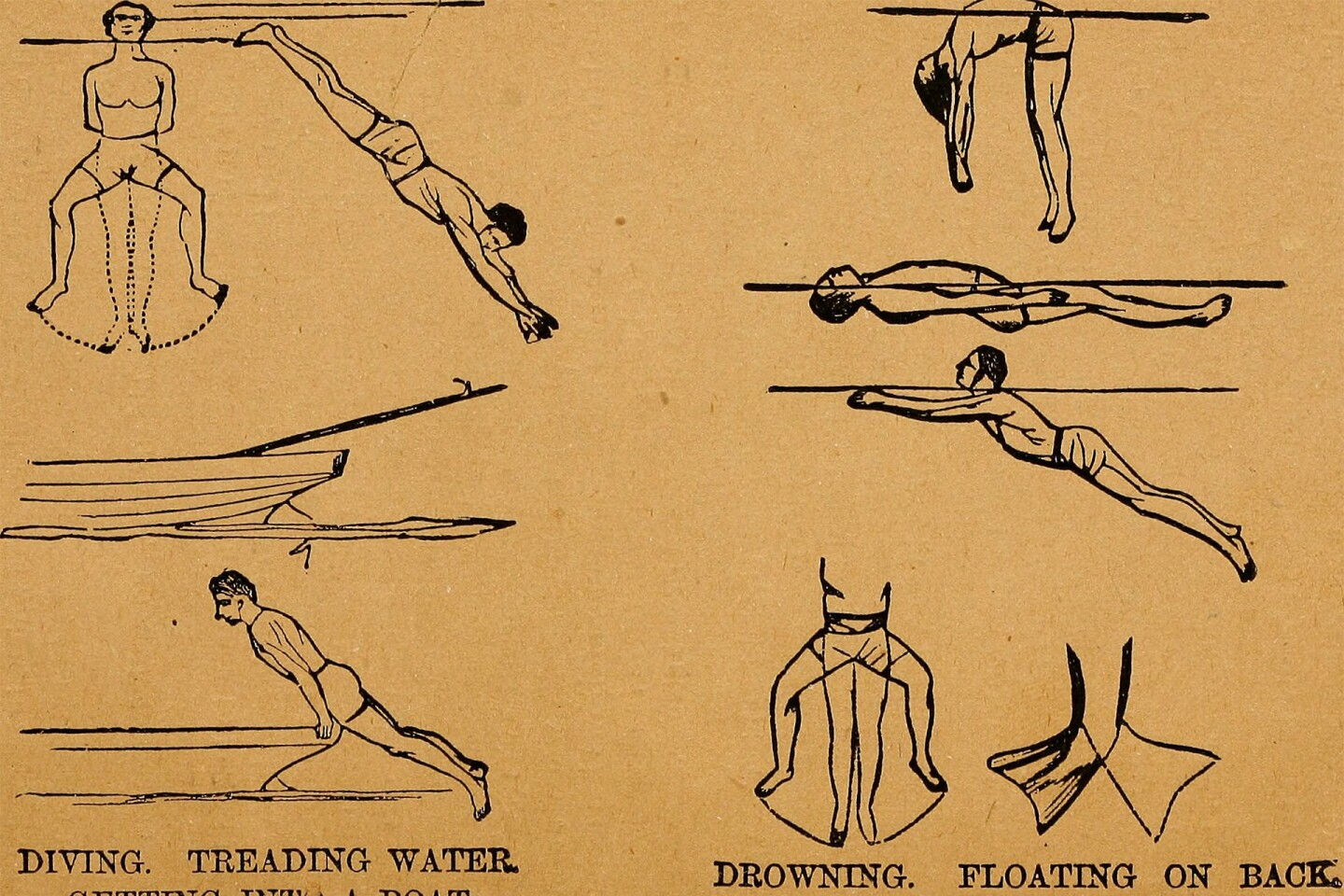 The art of boxing, swimming and gymnastics made easy, c. 1883 | Flickr's The Commons