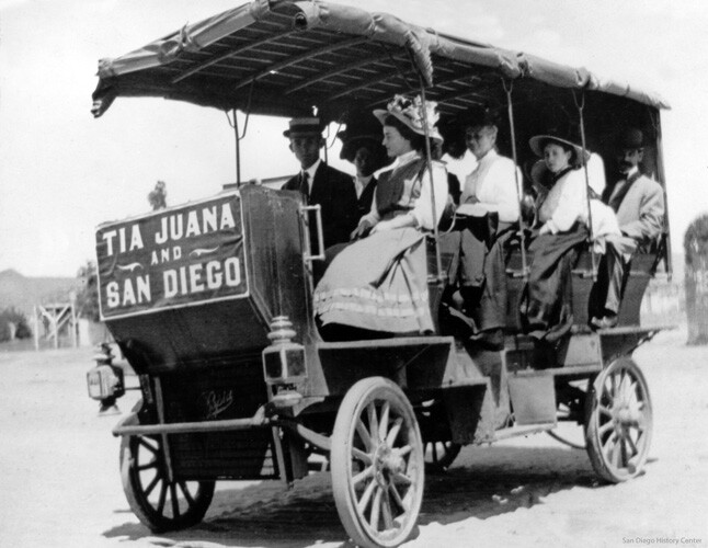 Border trolley tours | San Diego History Center