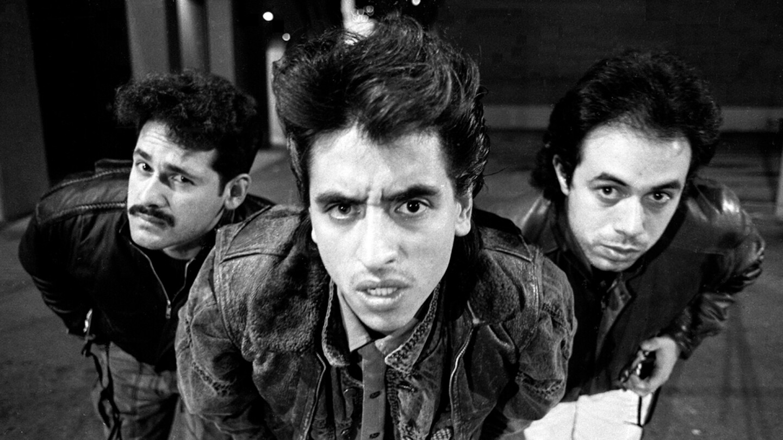 Black and white photo of Culture Clash | Harry Gamboa Jr.