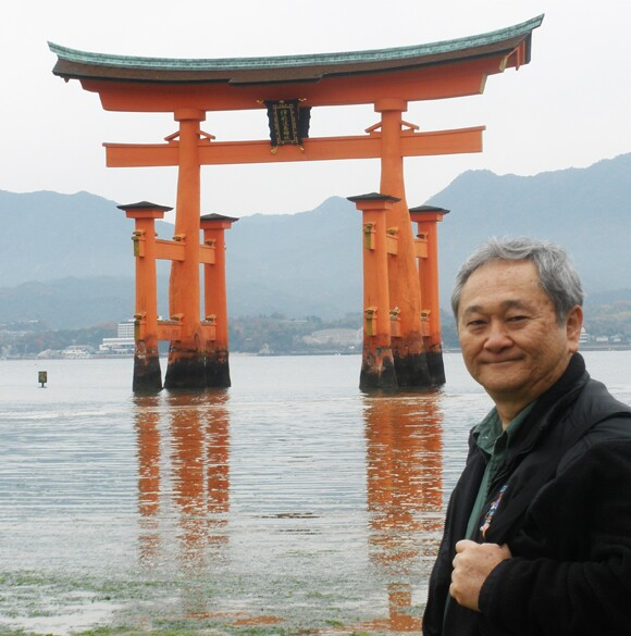 Stan Sakai at Miyajima.