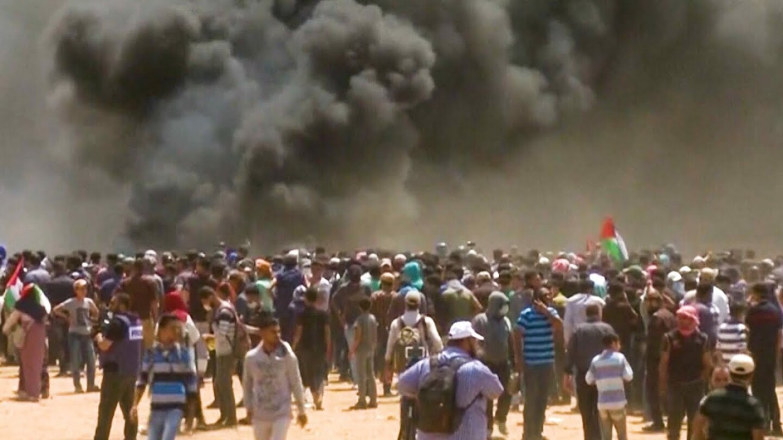 Israeli Soldiers Kill 30+ Palestinians Protesting as U.S. Opens Jerusalem Embassy | Democracy Now