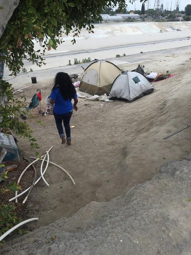 Outreach Worker Ashley McKay: Homeless Along LA River