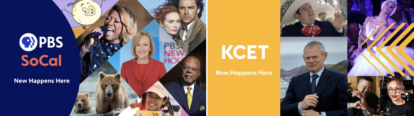PBS SoCal/KCET Combined Rebranding Key Art