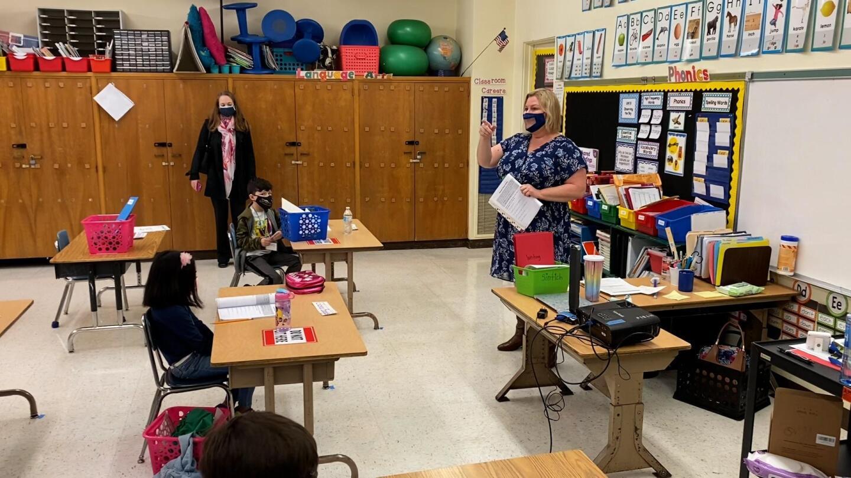 LAUSD classroom