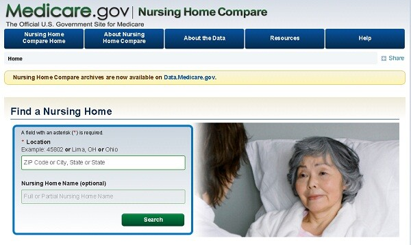 Looking at a nursing home's ratings on the Medicare website is just one step that should be taken to evaluate a potential care facility.