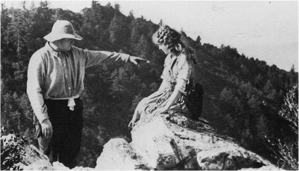 Boulder Creek region of Santa Cruz County, location site for Mary Pickford's M'Liss (1915). Academy of Motion Picture Arts and Sciences, Beverly Hills
