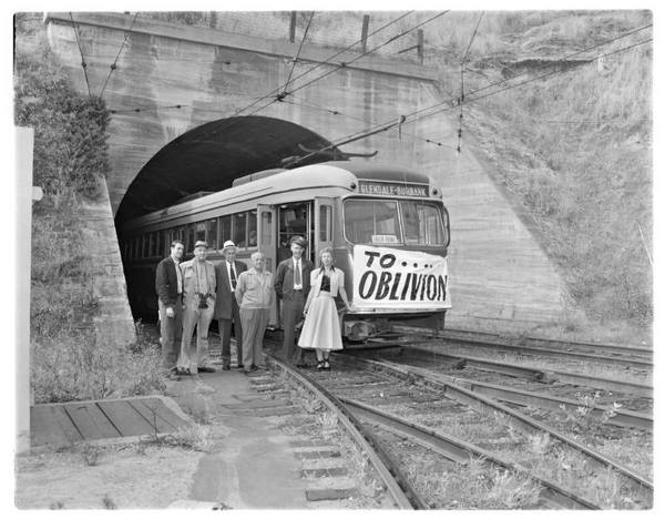 Last day of service, 1955 | Metro Library and Archive/Flickr/Creative Commons