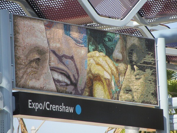 The northern terminus of the Crenshaw Line will allow for transfers at the east-west Expo Line.
