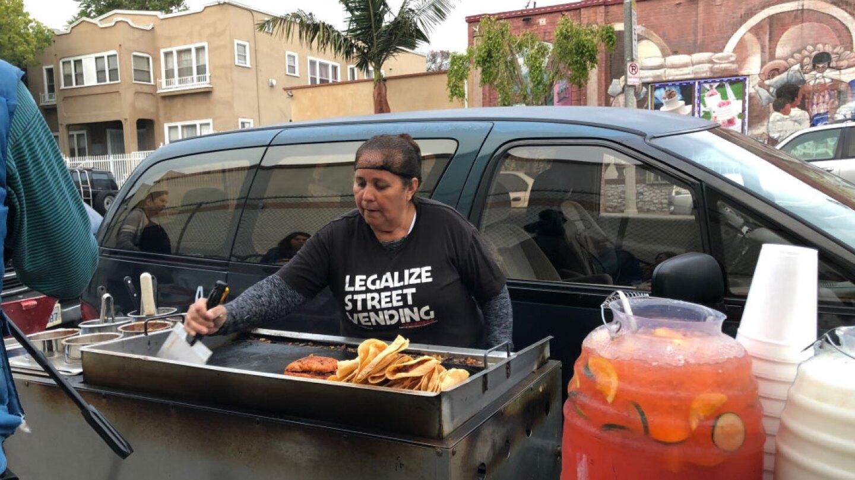Caridad - Street Vendor - Boyle Heights