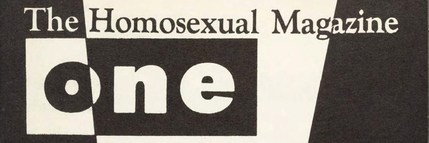 Cover of ONE magazine, volume 5, number 5 (1957 May). |  Elloree, Eve, cover, ONE National Gay and Lesbian Archives, USC Libraries