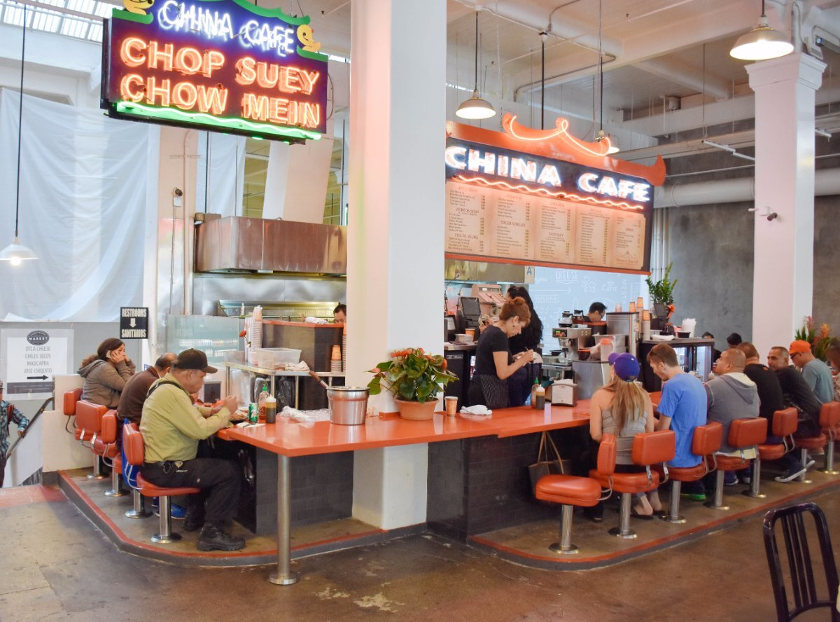 China Cafe at Grand Central Market | Clarissa Wei