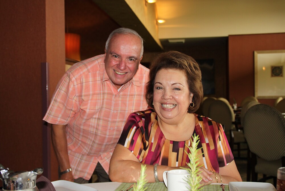 Frank and Gema Sandoval, the founders of Floricanto Dance Theatre and The Floricanto Center for The Performing Arts | Courtesy of Danza Floricanto
