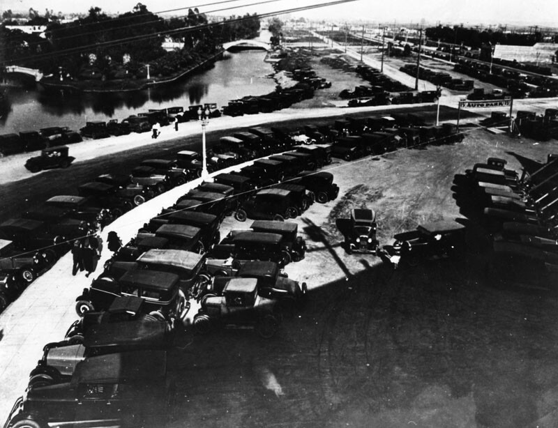 Built at the dawn of the automobile age, Venice of America was eventually overwhelmed by motor vehicles--a fact that ultimately led to the demise of the development's canals.
