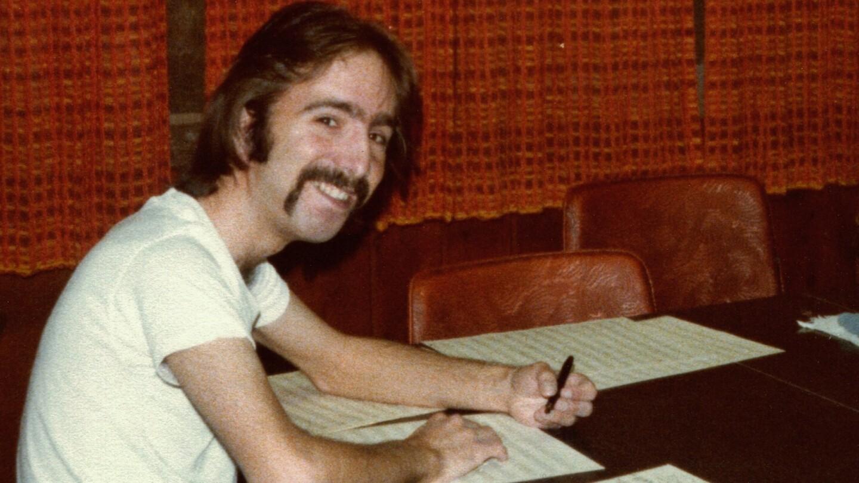 Steven J. Salazar writing music. (featured)