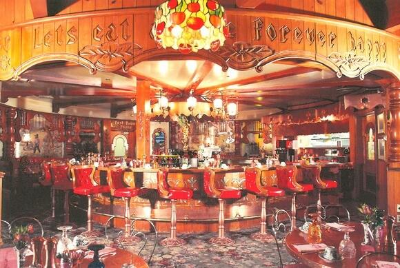 The Copper Café at the Madonna Inn in San Luis Obispo. | Photo: Courtesy of Madonna Inn.
