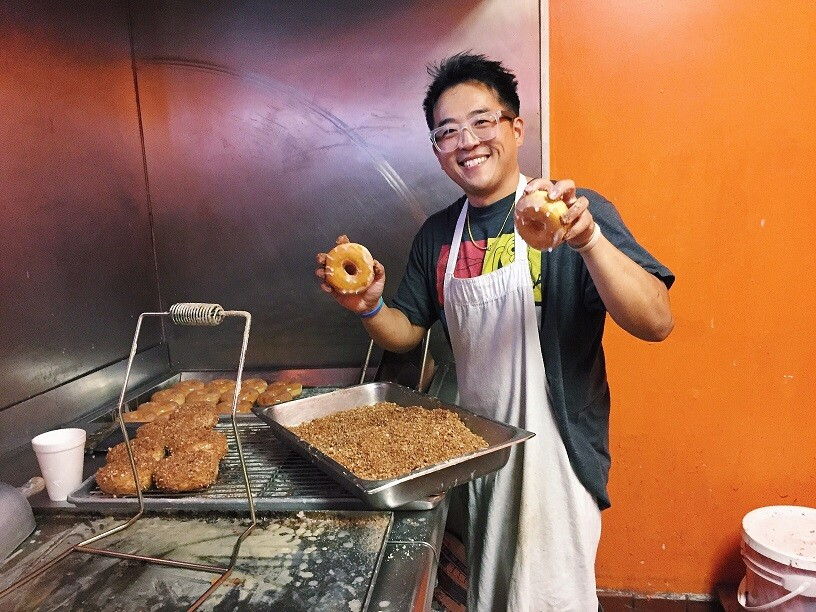 Jonathan Ung Apple Fritters