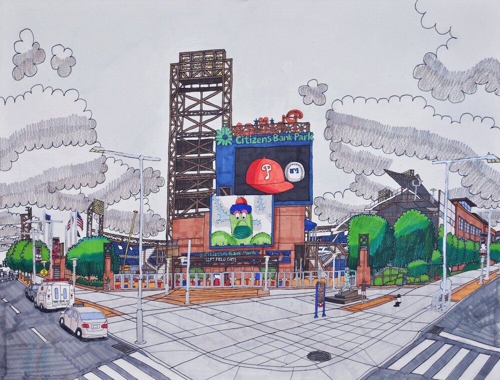 "Joe Zaldivar, ""Left Field"""