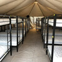 Bunk Beds in a detention center in Texas | Administration for Children and Families at HHS