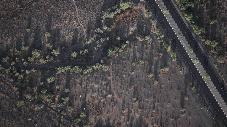 Aerial photography of the Mojave Desert | Carson van Tol / Unsplash