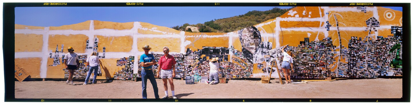 The Laguna Canyon Project by artists Mark Chamberlain and Jerry Burchfield | Photo: Tom Lamb (primary)