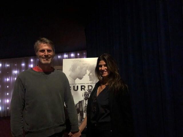 Filmmakers Andrew Heckler and Robbie Brenner
