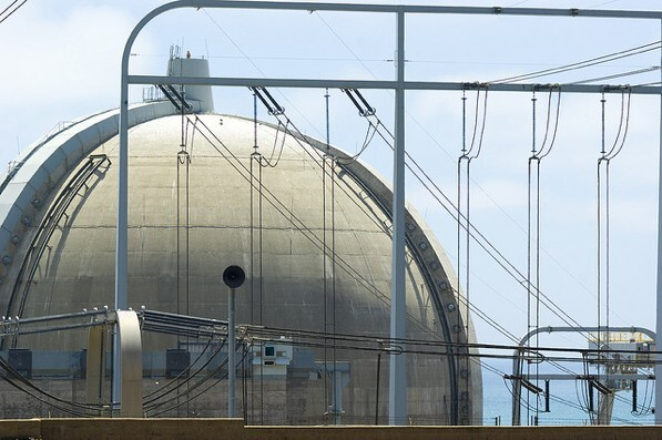 The San Onofre nuclear power plant in San Diego County, California