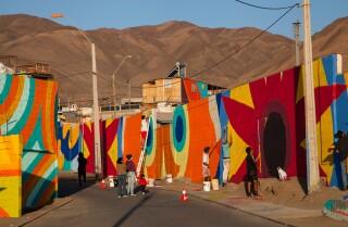 Big Cities: Boa Mistura work in Antofogasta