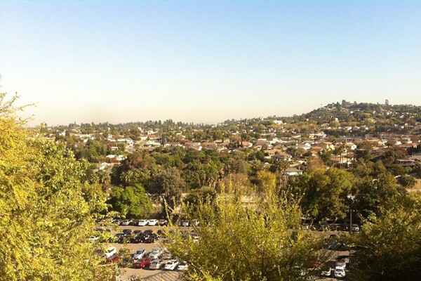 View of Alhambra as seen from the Silver Line