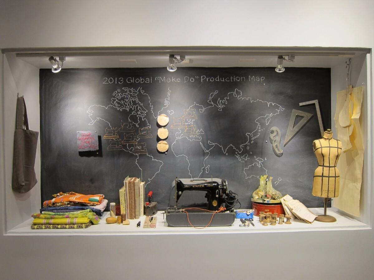 Frau Fiber's activity archive. Craft and Folk Art Museum 2013   Carole Frances Lung
