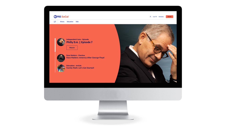 PBS SoCal Website