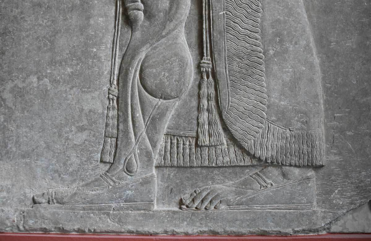 Relief from Assyrian palace at Nimrud, 9th cent. BCE at Pergamon Museum, Berlin | Richard Mortel / Flickr / CC BY 2.0