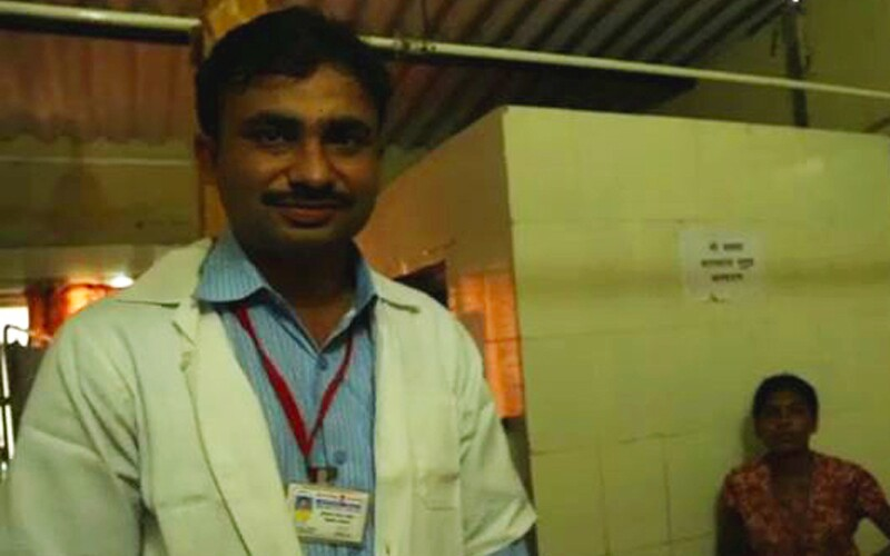 Dr. Khanindra Bhuyan is a UNICEF health specialist in Mumbai, India