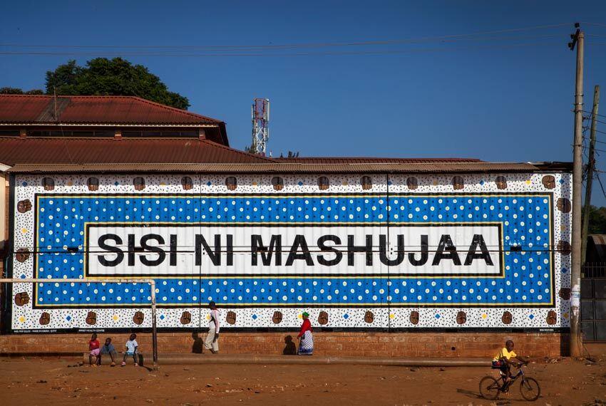 Kanga project in Nairobi, Kenya