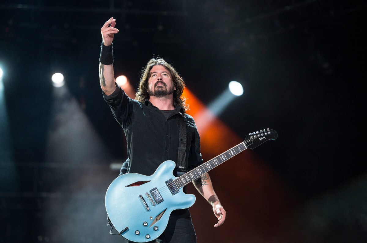 Dave Grohl in 2013   Fernando Aceves