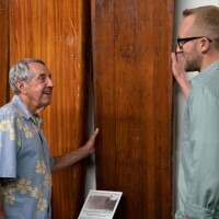 In conversation with Dick Metz at the Surfing Heritage & Culture Center in San Clemente | Katie Noonan