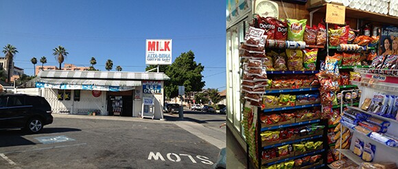 Milk? Not exactly. Most corner stores in Boyle Heights sell chips, beer, and sweets, with a serious lack of healthy options.