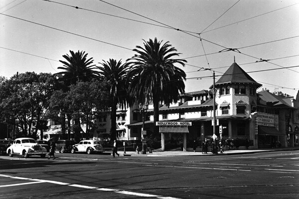 Hollywood Hotel, 1937 | Photo: Security Pacific National Bank Collection/LAPL