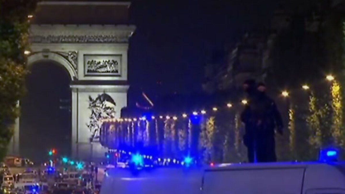 Champs Elysees Attack