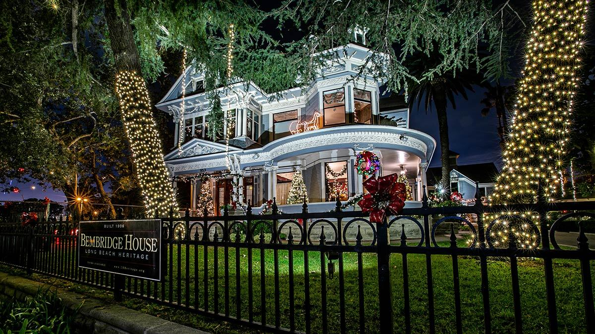 The Bembridge House decorated for Christmas. | Jose Cordon, courtesy of Willmore City Heritage Association