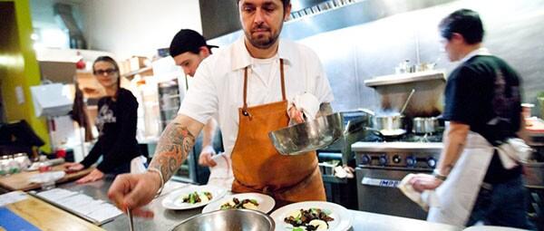 Chef Ludo Lefebvre of Trois Mec
