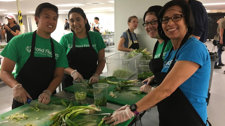 Feeding The 500 Kitchen Staff