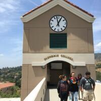 Glendale Community College, before the coronavirus crisis.   Adolfo Guzman-Lopez/LAist